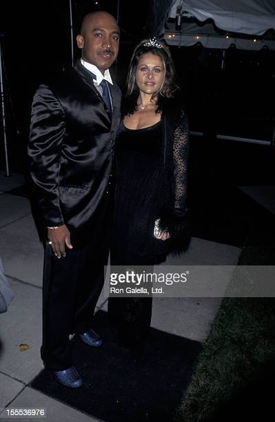 Talk Show Host Montel Williams and wife Grace Morley attending Carol M Baldwin Center Dedication Benefit Gala on October 18 1997 at the Melville...