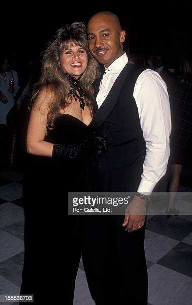 Talk Show Host Montel Williams and wife Grace Morley attending Party for 500th Episode of Montel Williams Show on November 30 1993 at the Museum of...