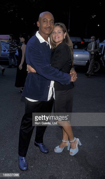 Talk Show Host Montel Williams and wife Grace Morley attending Salute to American Heroes Benefit for the Fresh Air Fund on June 4 1998 at Tavern on...