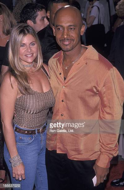 Talk Show Host Montel Williams and wife Grace Morley attending the premiere of Summer of Sam on June 28 1999 at the Sony Astor Plaza Theater in New...