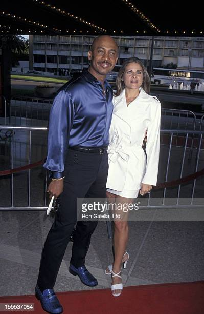 Talk Show Host Montel Williams and wife Grace Morley attending the world premiere of Speed 2Cruise Control on June 9 1997 at the Cineplex Odeon...