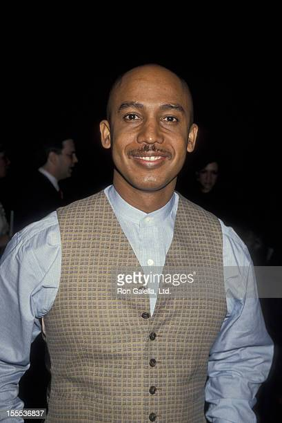 Talk Show Host Montel Williams attending NAPTE Convention on January 24 1995 at Sands Expo Center in Las Vegas Nevada