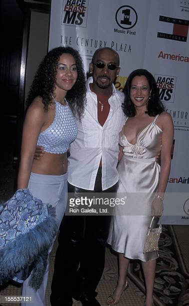 Talk Show Host Montel Williams daughter Ashley Williams and Tamala Harris attending Eighth Annual Race to Erase Multiple Sclerosis on May 18 2001 at...