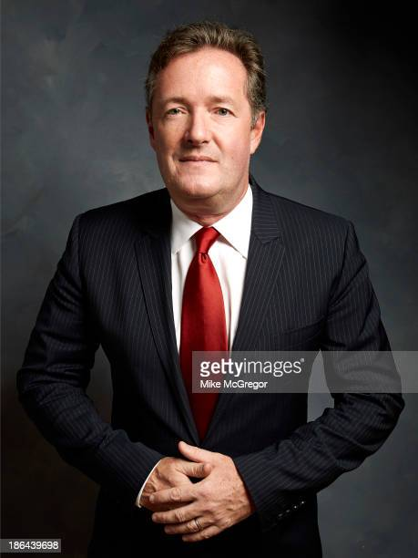 Talk show host Piers Morgan is photographed for Self Assignment on September 11 2013 in New York City