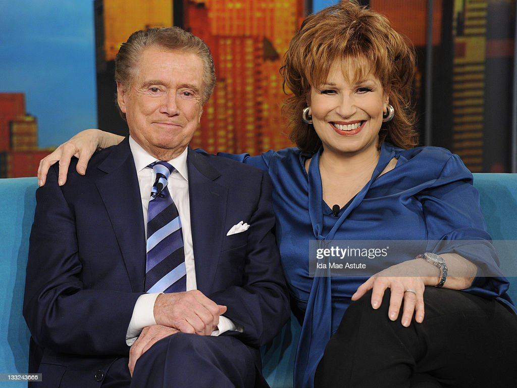 THE VIEW - (11.17.11) Talk show host Regis Philbin chats with the co-hosts about his departure from 'Live' today on 'The View.' 'The View' airs Monday-Friday (11:00 am-12:00 pm, ET) on the ABC Television Network. BEHAR