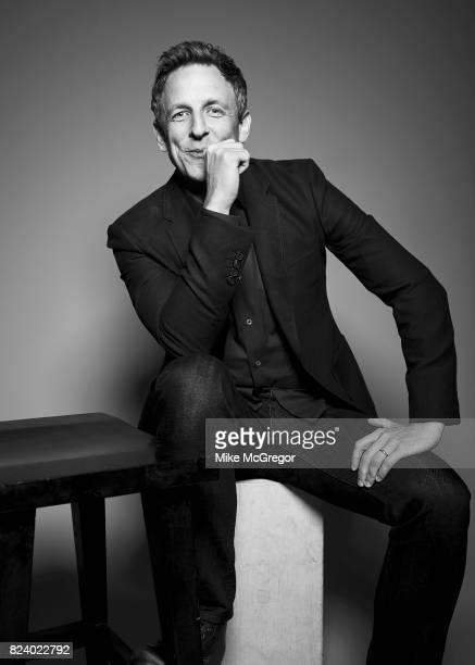 Talk show host Seth Meyers is photographed for Variety on May 5 2017 in New York City