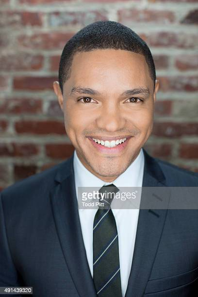 Talk show host Trevor Noah is photographed for USA Today on September 16 2015 in New York City