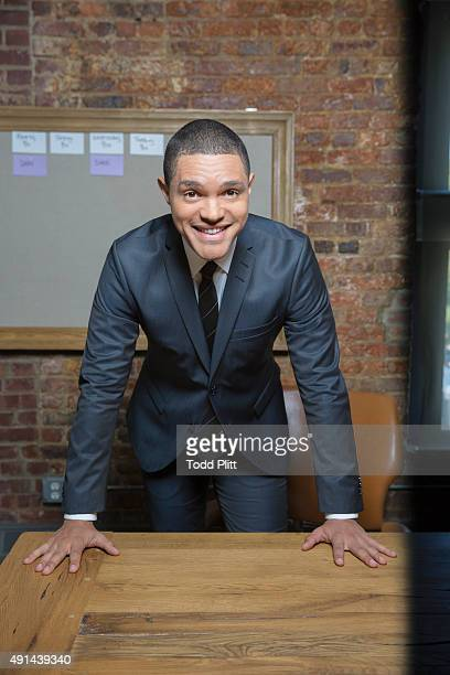 Talk show host Trevor Noah is photographed for USA Today on September 16 2015 in New York City PUBLISHED IMAGE