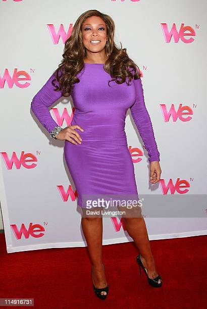 "Talk show host Wendy Williams attends a reunion special taping for the WE TV series' ""Braxton Family Values"" at Occidental Studios on May 28, 2011 in..."