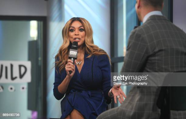 Talk show host Wendy Williams attends Build Series to discuss her daytime talk show at Build Studio on April 17, 2017 in New York City.