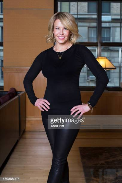 Talk show host/author Chelsea Handler is photographed for USA Today on January 31 2014 in New York City