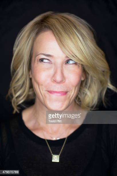 Talk show host/author Chelsea Handler is photographed for USA Today on January 31 2014 in New York City PUBLISHED IMAGE