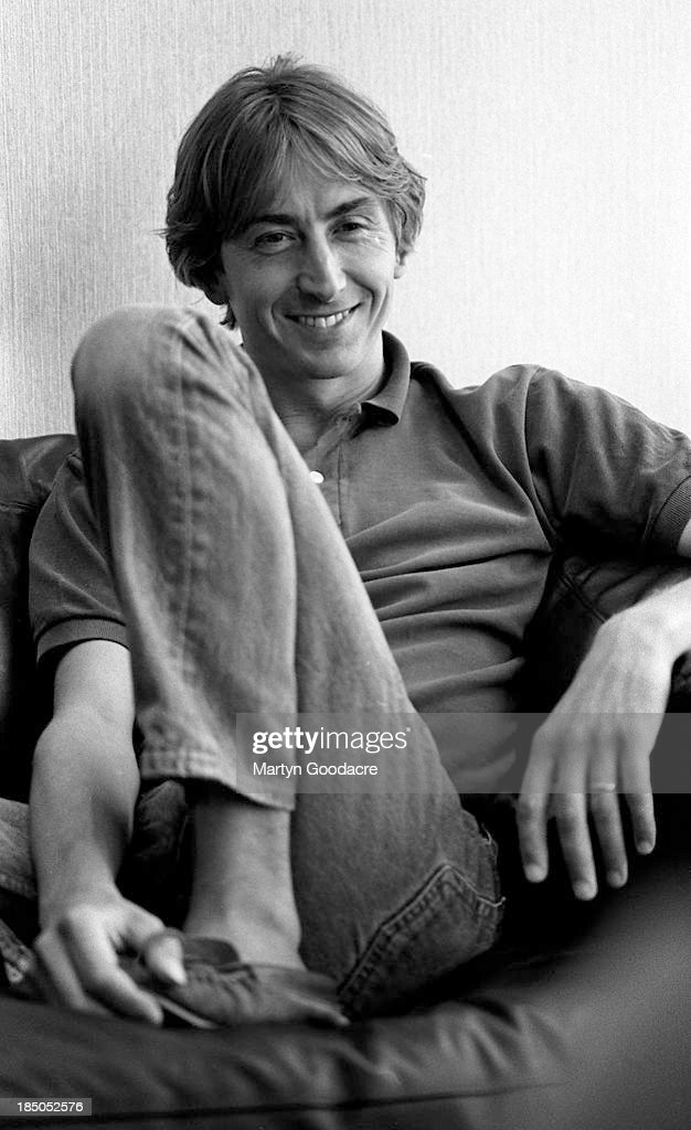 Talk Talk Singer Mark Hollis London 1990 : Foto jornalística