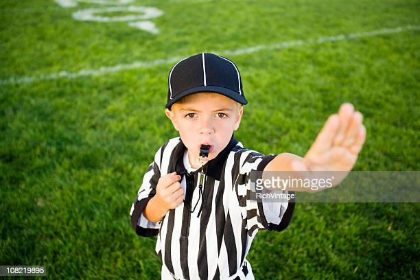 talk to the hand - american football referee stock pictures, royalty-free photos & images