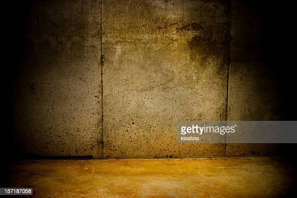 talk to the wall - dungeon stock photos and pictures