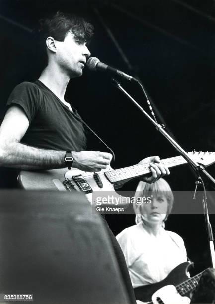 Talking Heads David Byrne Tina Weymouth Rock Werchter Festival Werchter Belgium
