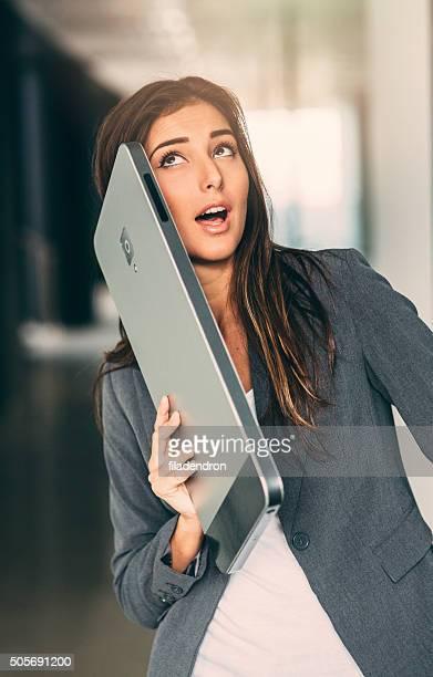 Reden auf einem Smartphone