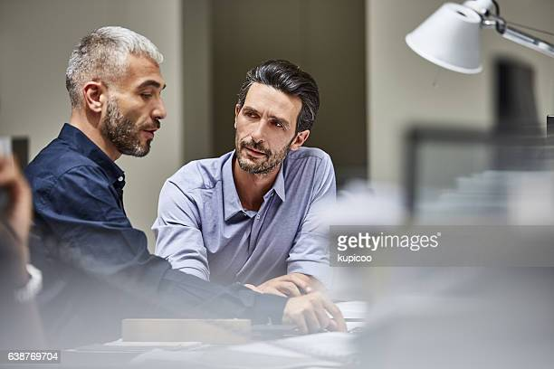 Talking through the paperwork together
