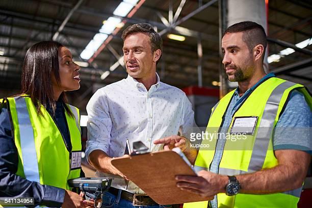 Talking through their inventory