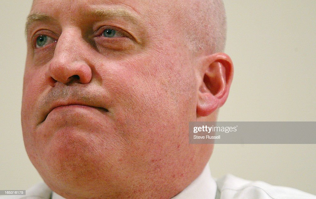 NHL TALKS---02/10/05---Bill Daly, NHL Executive Vice President and Chief Legal Officer, releases a s : News Photo