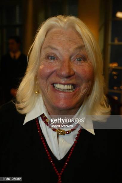 "Talk-Show ""Boulevard Bio"" vom - Maj Axelsson, Ehefrau von Larry Hagman."