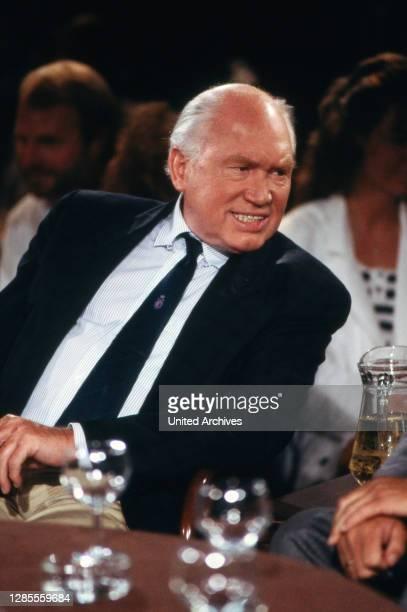 Talkshow, Talkshow aus Hamburg, Sendung vom 3. Juli 1988, Talkgast: Chirurg und Sterbehilfe-Befürworter Julius Hackethal.