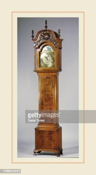 Tall Clock, 1750–60, Made in Philadelphia, Pennsylvania, United States, American, Walnut, tulip poplar, white pine, 107 1/2 x 23 1/2 x 11 3/8 in. ,...