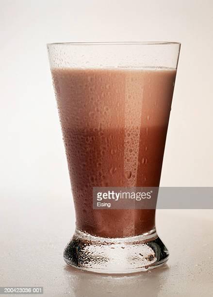 Tall Glass of Chocolate Milk