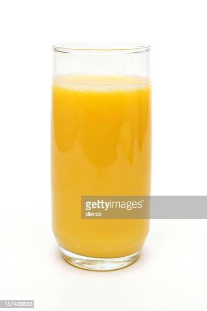 トールグラスオレンジジュース