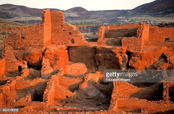 Tall House At Wupatki Ruin Of Sinagua And Anasazi Indians, Arizona.