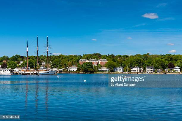 Tall sailship in Mystic Connecticut