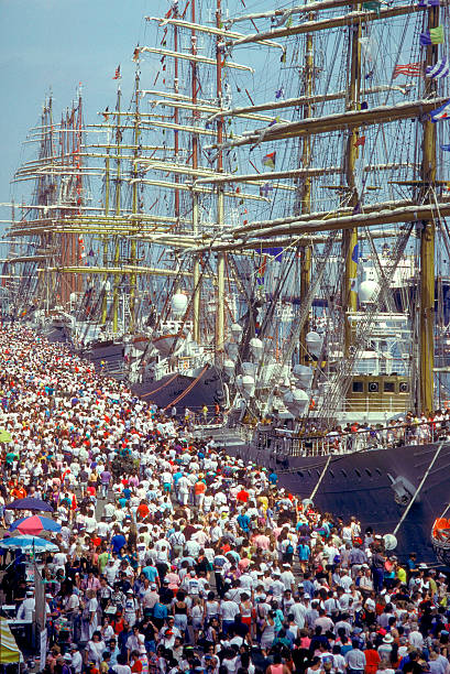 Tall Ships Parade Boston Harbor Pictures Getty Images - Boston tall ship cruise