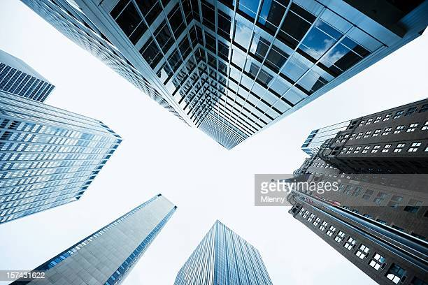 Tall Skyscapers NYC Manhattan