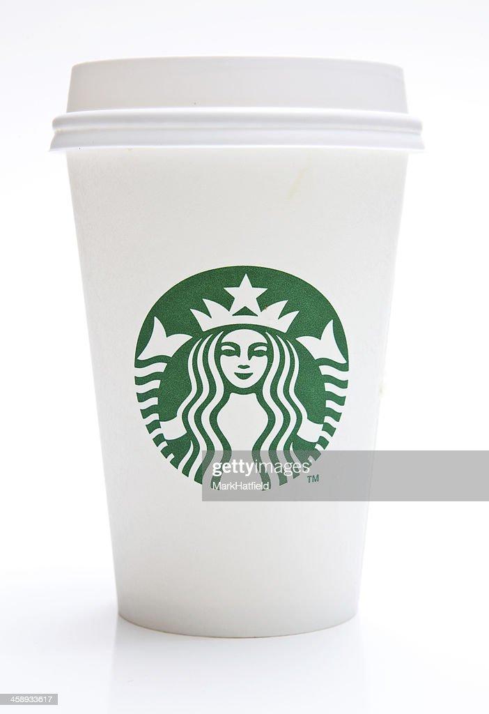 Tall Starbucks Coffee Cup : Stock Photo