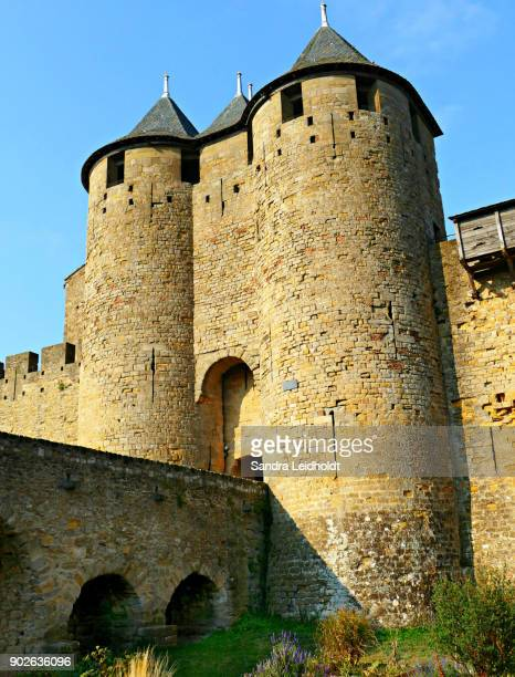 Tall Towers of Carcassonne - France