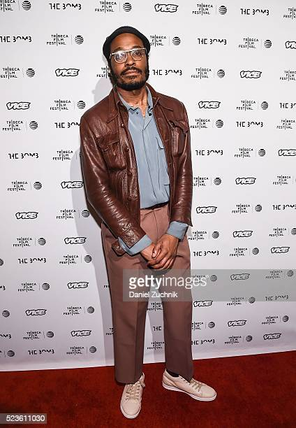 Tall West attends the 'the bomb ' premiere during the 2016 Tribeca Film Festival at Gotham Hall on April 23 2016 in New York City