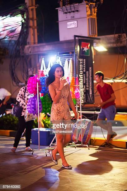 Very tall asian women