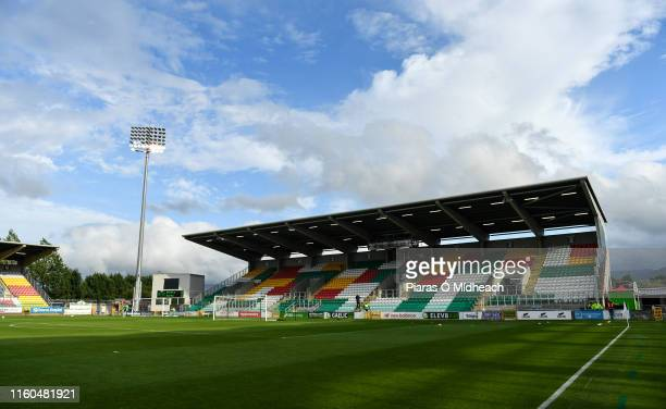 Tallaght Ireland 9 August 2019 A general view of Tallaght Stadium before the Extraie FAI Cup First Round match between Shamrock Rovers and Finn Harps...