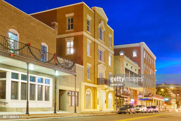 Tallahassee Florida Downtown College Avenue with Restaurants