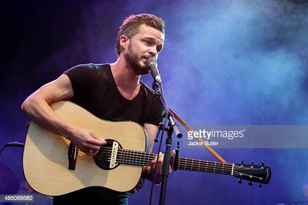Tallest Man On Earth performs during MusicFest NW at Tom McCall Waterfront Park on August 23 2015 in Portland Oregon