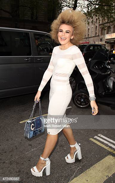 Tallia Storm at the ME hotel for the Michelle Keegan Lipsy clothing launch party on May 7 2015 in London England