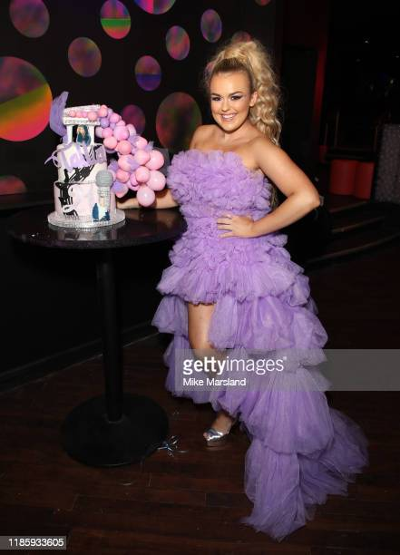 Tallia Storm attend her 21st Birthday Party at Ballie Ballerson on November 06 2019 in London England
