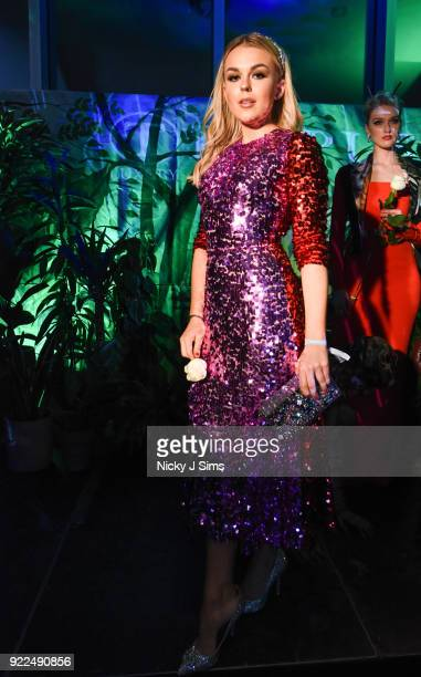 Tallia Storm attend The BRIT Awards 2018 afterparty hosted by Tempus magazine at The Intercontinental Hotel The o2 on February 21 2018 in London...
