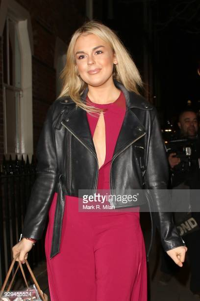 Tallia Storm attending the Bardou Foundation International Women's Day celebration at the Hospital Club on March 8 2018 in London England