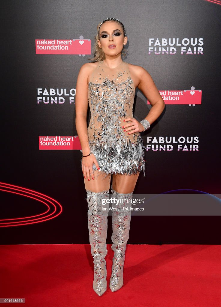 Tallia Storm attending the Naked Heart Foundation Fabulous Fun dFair held at The Roundhouse in Chalk Farm, London.