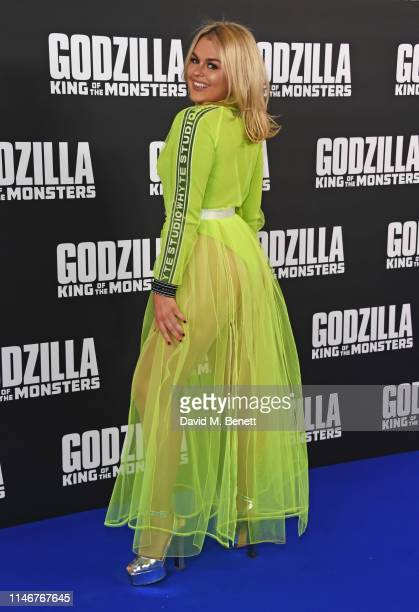 Tallia Storm attends a special screening of Godzilla II King Of The Monsters at Cineworld Leicester Square on May 28 2019 in London England