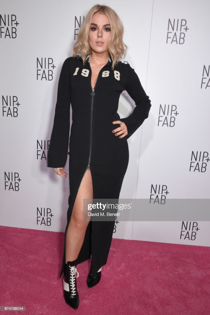 Tallia Storm attends as Sofia Richie is announced as the latest Nip+Fab Ambassador at Restaurant Ours on November 14, 2017 in London, England.