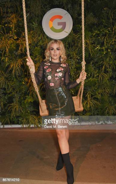 Tallia Storm attends Google's Pixel 2 phone launch at The Old Selfridges Hotel on October 4 2017 in London England