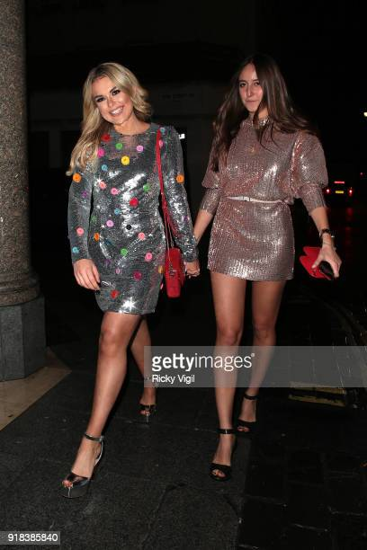 Tallia Storm attends NME afterparty at Kadie's Club on February 14 2018 in London England