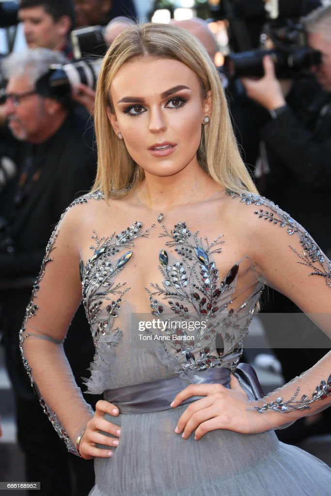 Tallia Storm attends the '120 Battements Par Minutes (120 Beats Per Minute)' screening during the 70th annual Cannes Film Festival at Palais des Festivals on May 20, 2017 in Cannes, France.